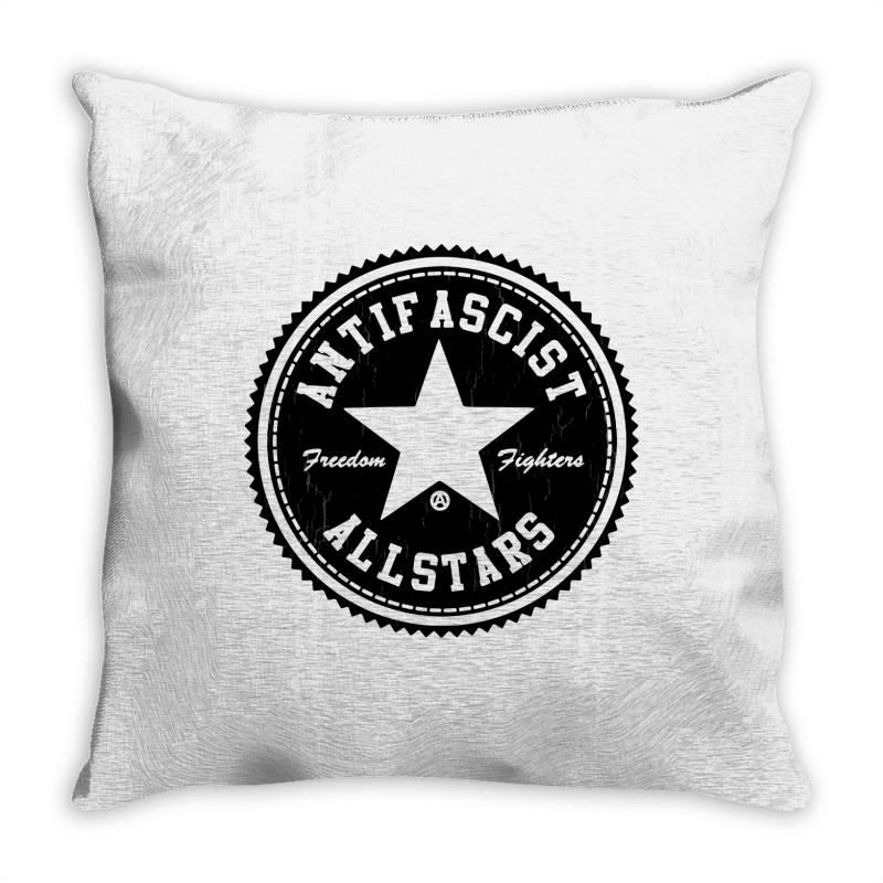 Fighter Black Throw Pillow   Artistshot