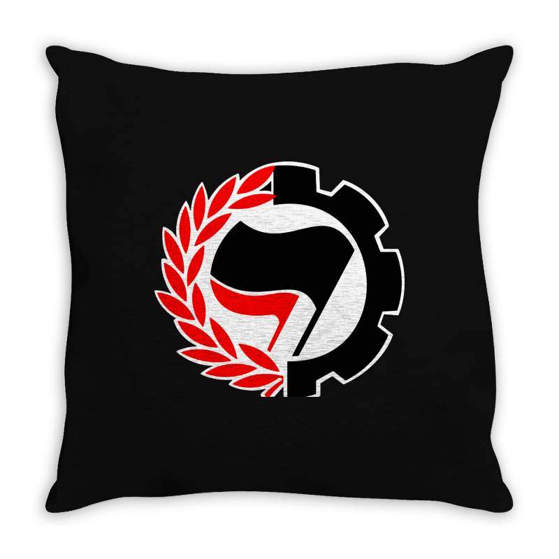 Anti F Throw Pillow | Artistshot