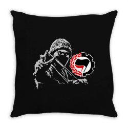 anti f art Throw Pillow   Artistshot