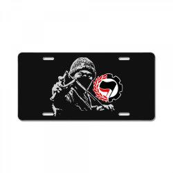 anti f art License Plate   Artistshot