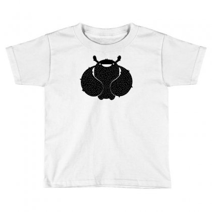 Cuddle Black Toddler T-shirt Designed By Chilistore