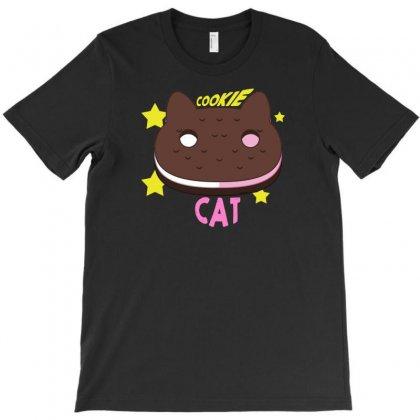 Cookie Cat T-shirt Designed By Thesamsat