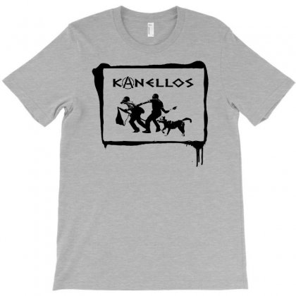 Kanellos The Riot Dog T-shirt Designed By Chilistore
