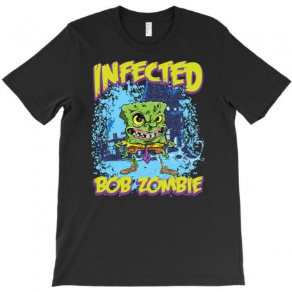 Infected Bob Zombie T-shirt Designed By Ditreamx