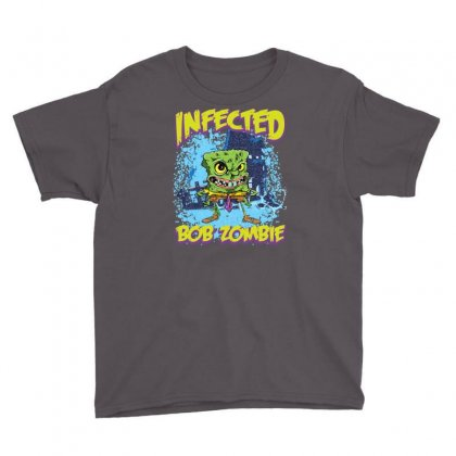 Infected Bob Zombie Youth Tee Designed By Ditreamx