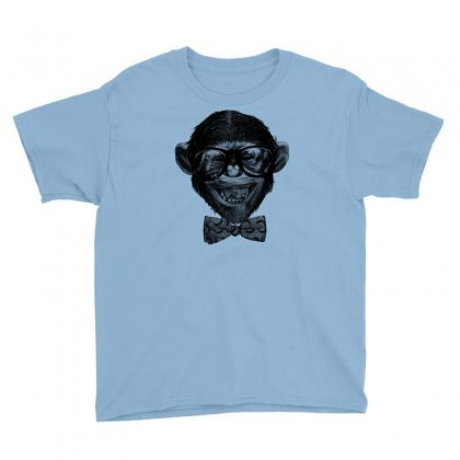 Chimp Grin Youth Tee Designed By Chilistore