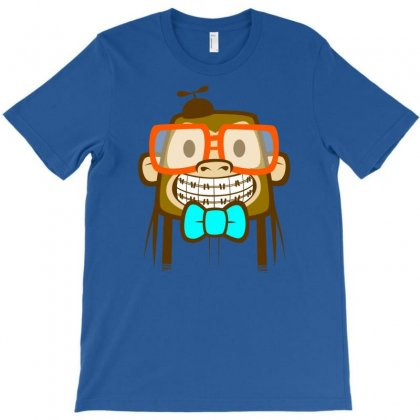 Geek Monkey T-shirt Designed By Chilistore