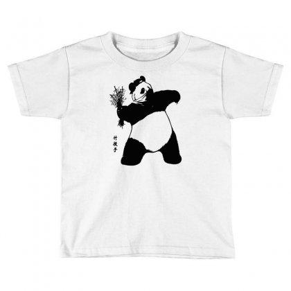 Bamboo Thrower Toddler T-shirt Designed By Thesamsat