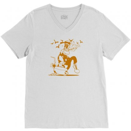 Fear N Loathing In This Foul Year V-neck Tee Designed By Thesamsat