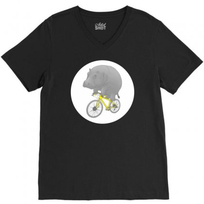 Dont Forget The Helmet V-neck Tee Designed By Specstore