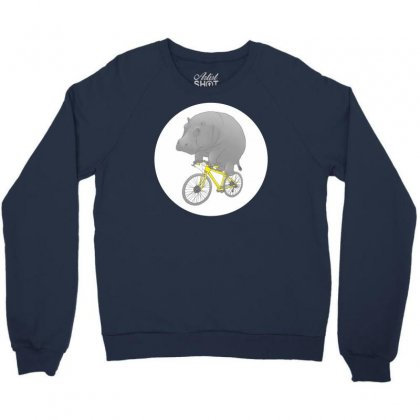 Dont Forget The Helmet Crewneck Sweatshirt Designed By Specstore