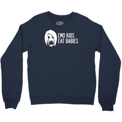 Emo Kids Eat Babies Crewneck Sweatshirt Designed By Specstore