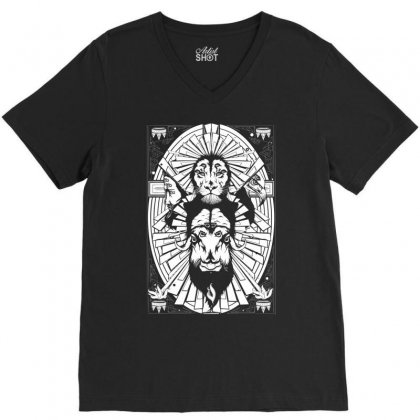 Eye Of The King V-neck Tee Designed By Specstore