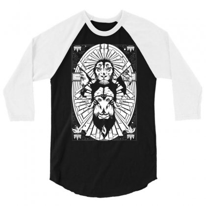 Eye Of The King 3/4 Sleeve Shirt Designed By Specstore