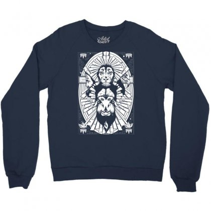 Eye Of The King Crewneck Sweatshirt Designed By Specstore