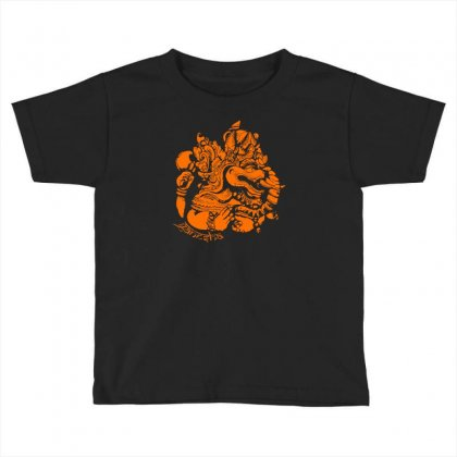 Ganesh Toddler T-shirt Designed By Specstore