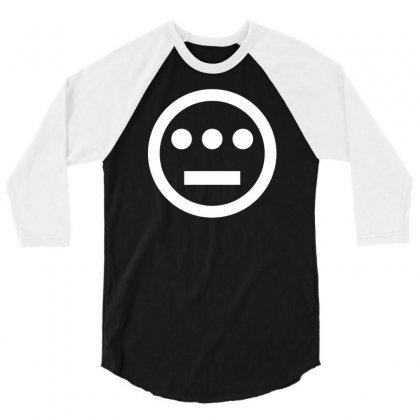 Hieroglyphics Logo 3/4 Sleeve Shirt Designed By Thesamsat