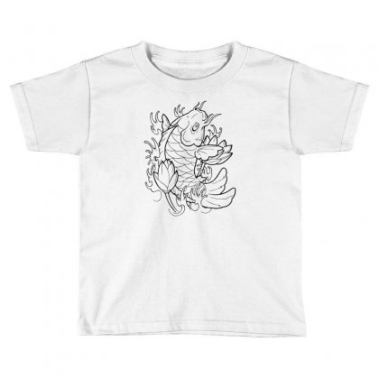 Goldfish Of Heaven Toddler T-shirt Designed By Specstore