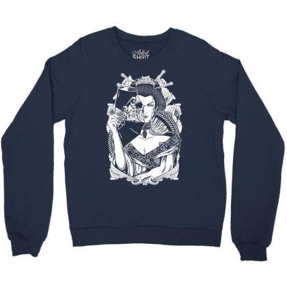 Half Dead Geisha Crewneck Sweatshirt Designed By Specstore