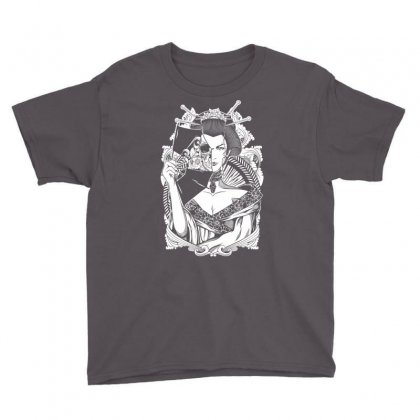 Half Dead Geisha Youth Tee Designed By Specstore