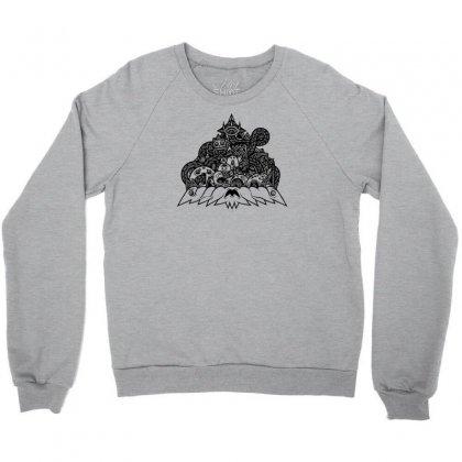 Ilumination Doodle Crewneck Sweatshirt Designed By Specstore