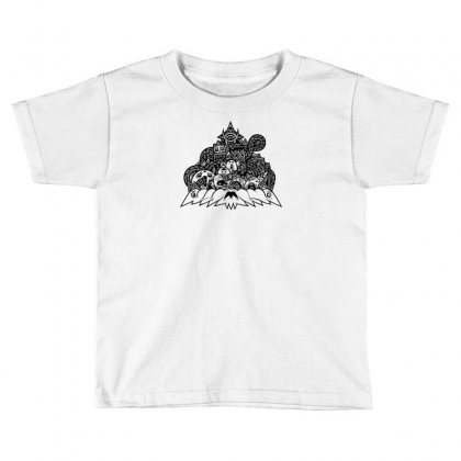 Ilumination Doodle Toddler T-shirt Designed By Specstore