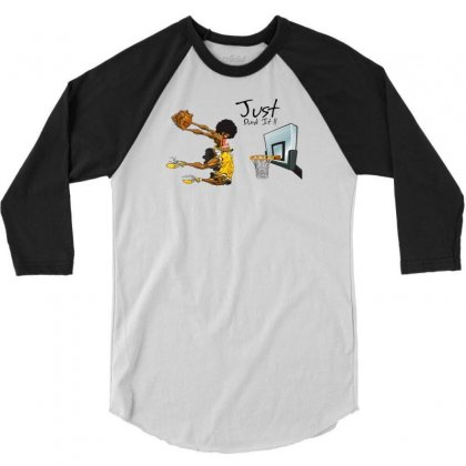 Just Dunk It 3/4 Sleeve Shirt Designed By Specstore