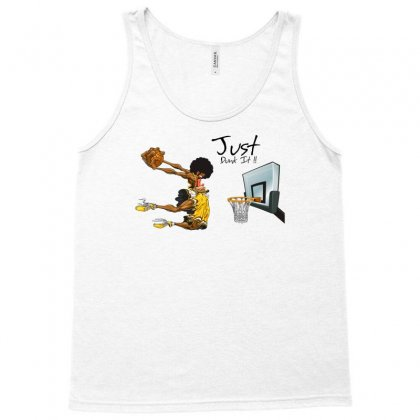 Just Dunk It Tank Top Designed By Specstore