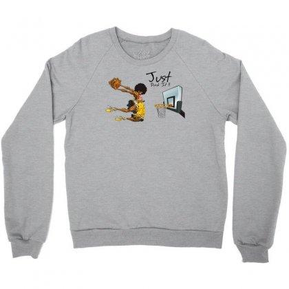 Just Dunk It Crewneck Sweatshirt Designed By Specstore