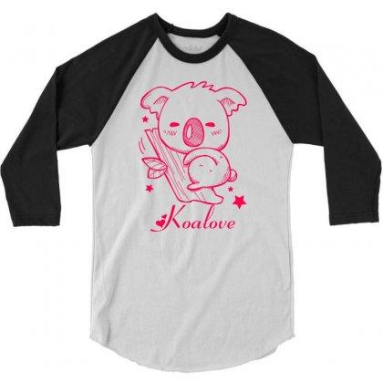 Koalove 3/4 Sleeve Shirt Designed By Specstore