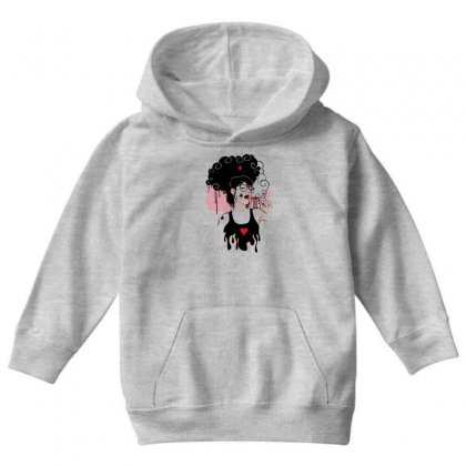Lollipop Girl Youth Hoodie Designed By Specstore