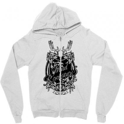 Mad Rockstar Myth Zipper Hoodie Designed By Specstore