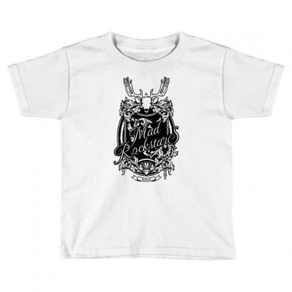 Mad Rockstar Myth Toddler T-shirt Designed By Specstore