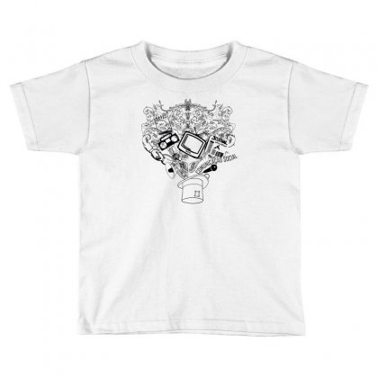 Magic Hat Of Social Toddler T-shirt Designed By Specstore