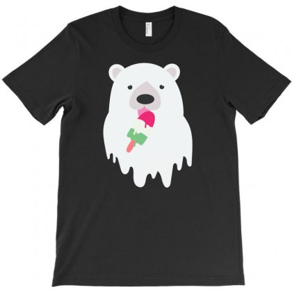 Melted Polar Cream T-shirt Designed By Specstore