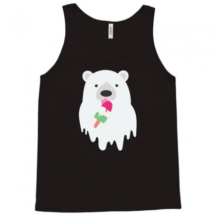 Melted Polar Cream Tank Top Designed By Specstore