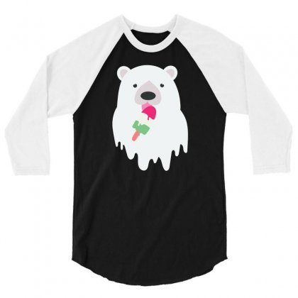 Melted Polar Cream 3/4 Sleeve Shirt Designed By Specstore