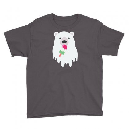 Melted Polar Cream Youth Tee Designed By Specstore