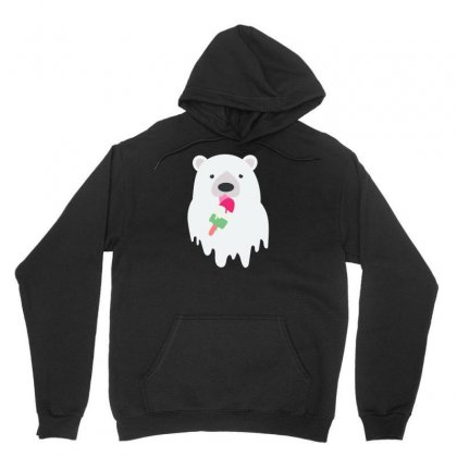 Melted Polar Cream Unisex Hoodie Designed By Specstore