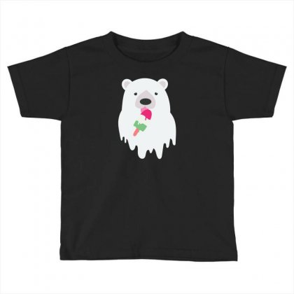 Melted Polar Cream Toddler T-shirt Designed By Specstore