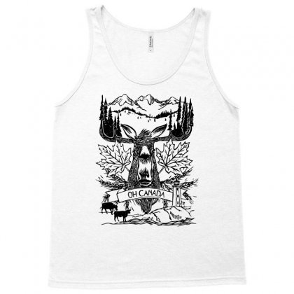 Oh Canada Tank Top Designed By Specstore