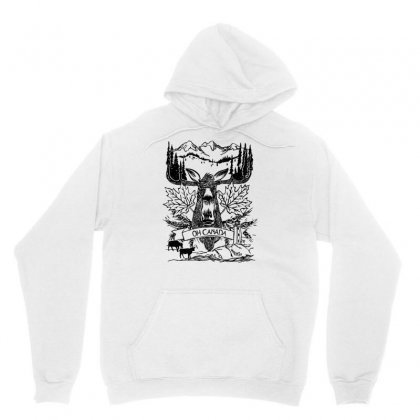 Oh Canada Unisex Hoodie Designed By Specstore