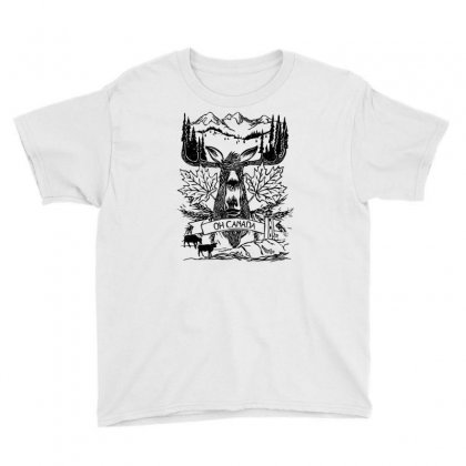 Oh Canada Youth Tee Designed By Specstore