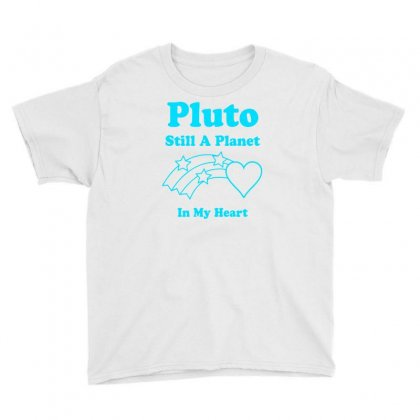 Pluto Still A Planet In My Heart Youth Tee Designed By Specstore