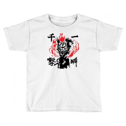 Raging Demon Toddler T-shirt Designed By Specstore