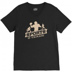 sports and teams V-Neck Tee | Artistshot