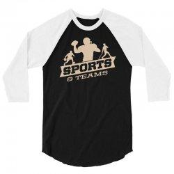 sports and teams 3/4 Sleeve Shirt | Artistshot