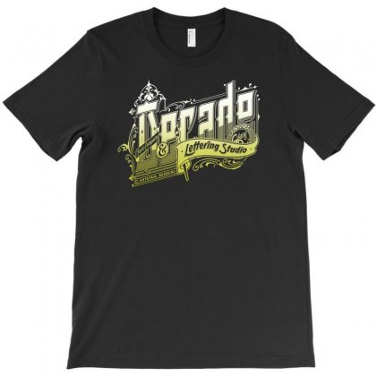 Decade Lettering T-shirt Designed By Buckstore