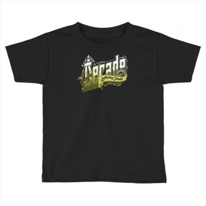 Decade Lettering Toddler T-shirt Designed By Buckstore
