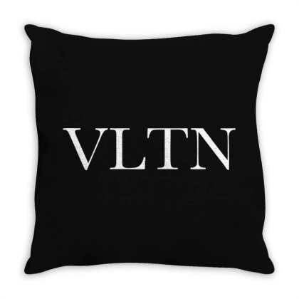 Valentino Throw Pillow Designed By Blqs Apparel